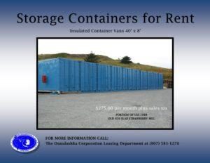 Storage Vans for Rent