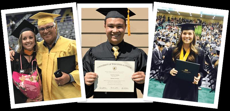 Edna P Scholarship Graduates